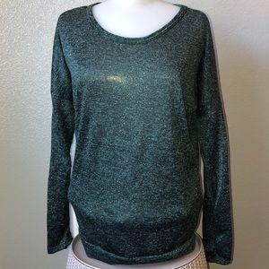 Scarlett Medium Emerald Green Sparkle Sweater